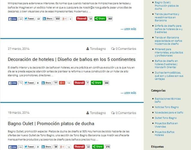 Coherentia Consulting, viralizacion de posts de un blog de empresa