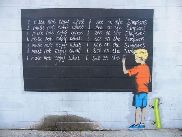 banksy-graffiti-street-art-simsons