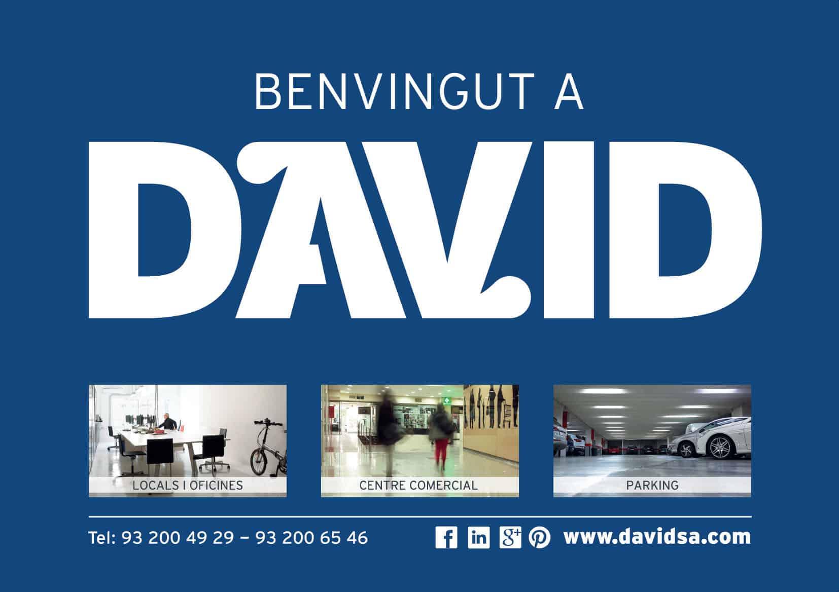 Marketing online inmobiliario Edificio David Barcelona