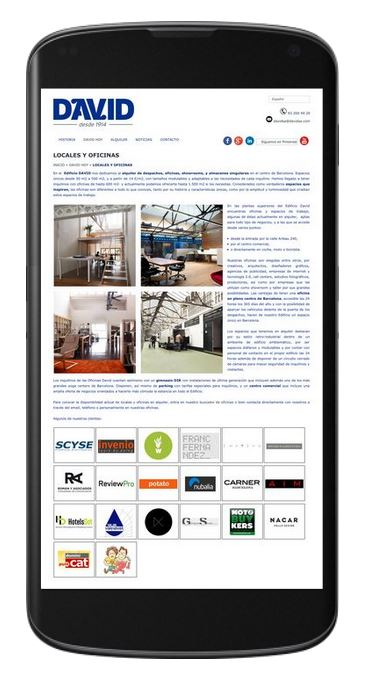 marketing digital empresas barcelona, edificio david