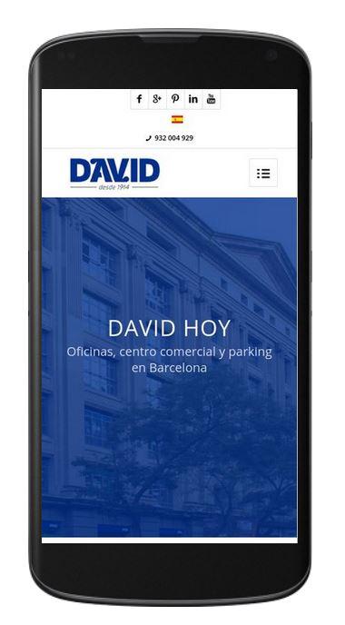 marketing online empresas inmobiliarias, edificio david